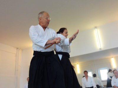 Lehrgang mit Wolfgang Baumgartner-Sensei, 7. Dan
