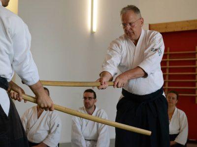 Lehrgang mit Wolfgang Baumgartner-Sensei, 6. Dan