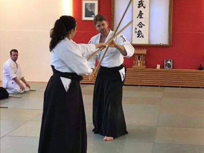 Waffenlehrgang mit Fabian Horn, 5. Dan Aikikai (TAA)